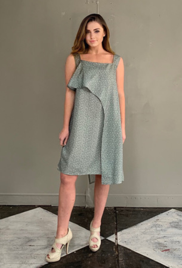 Green Dress (Short with 2 layers)